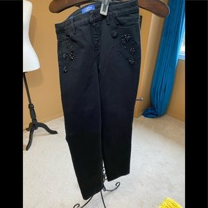 Talbots limited edition black jeans